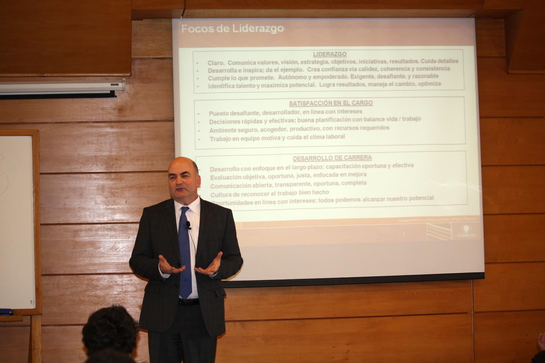 Sebastián Conde en sexto ciclo conferencias \'Haciendo Empresa ...