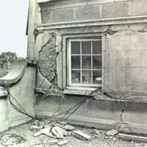 1985 - Terremoto en Santiago. Traslado, por cinco años, a Agustinas 1831.