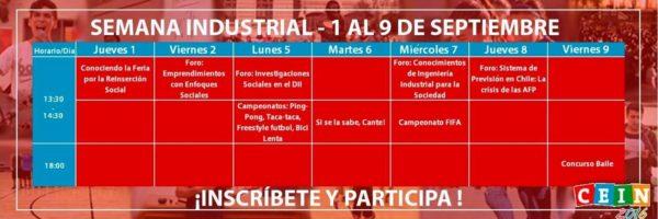 semana industrial 2016