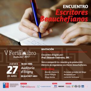 Encuentro escritores beauchefianos