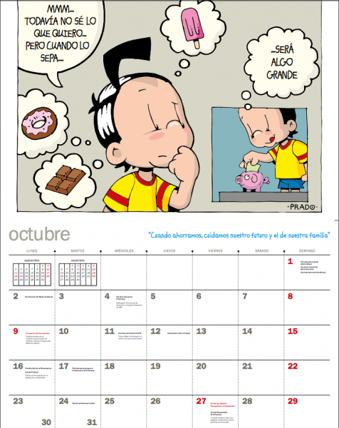 calendario Unicef